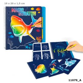 Dino World Magic Scratch Book UNDERWATER