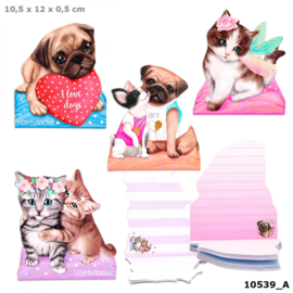 TOPModel Kitty & Doggy notitieblok