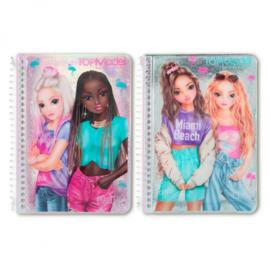 TOPModel notitieboek MIAMI Roze en Mint