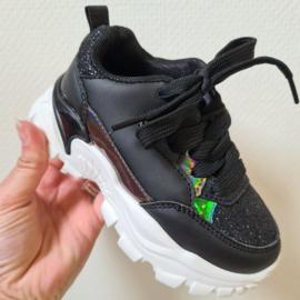 Some glitter sneaker - Black