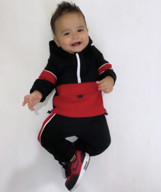 Baby colored set - red