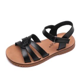 Basic braids sandals - black