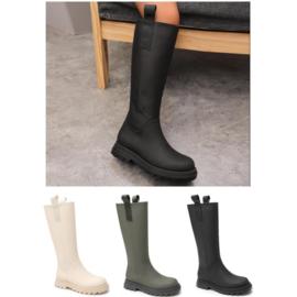 Basic high boots