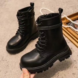Lacey boots - Black