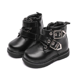 Mini basic buckle boots