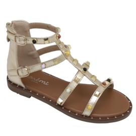Just a little color sandals - Gold