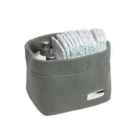 Commode mand Knit basic Forest Green