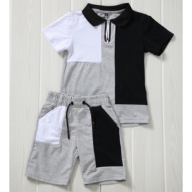 Black, white & grey boys set