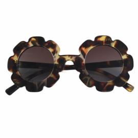 Flower leopard sunglasses - kids