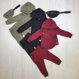 Zipped Hoody & bag set