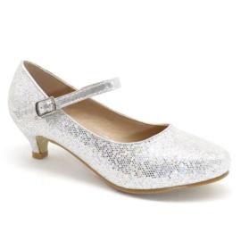 Dress me up glitter heels - Silver