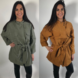 Oversized spring jacket