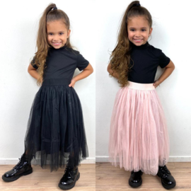 Shiny tule skirt
