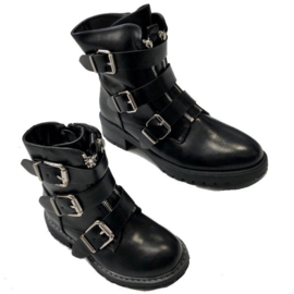 Mommy & Me buckle boots