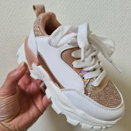Some glitter sneaker - Champagne