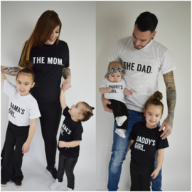 Daddy's/mama's girl Shortsleeves
