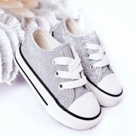 Make it walk glitter -  Silver