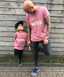 Colored Matties tee (twinning)