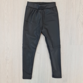 Leather thermo legging