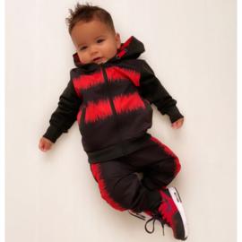 Red & Black hoody set