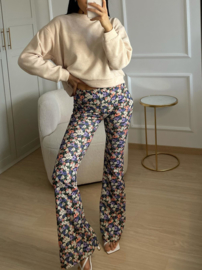 All over flower pants