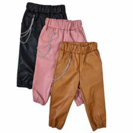 Leather & Chained pants - 3 colors
