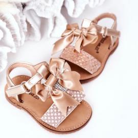 Bow & Sparkle sandals