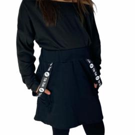 Black TikTok skirt