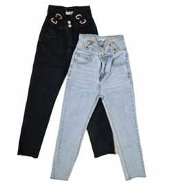 Some silver jeans