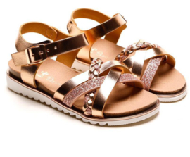 Champagne Girly sandals