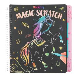 Miss Melody Magic Scratch boek