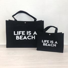 Life is a beach bag