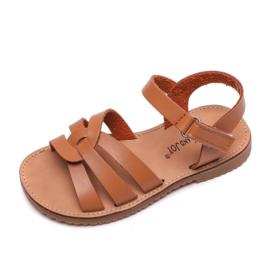 Basic braids sandals - camel