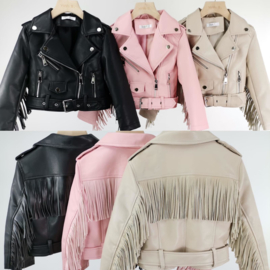 Fringe up my leather jacket