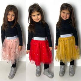 Shiny dots skirt