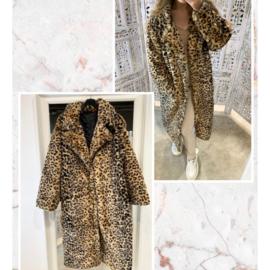 Furry Leopard jacket