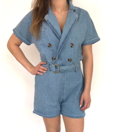 Denim playsuit (mommy)