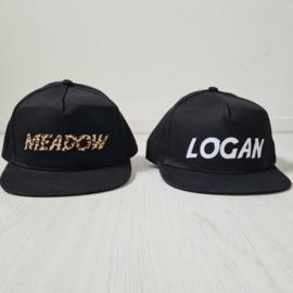 Baby name cap black