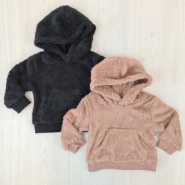 Soft teddy sweater