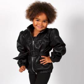Girly leather jacket