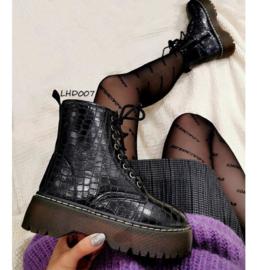 My croco boots