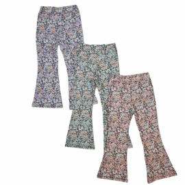 4 Colors flower pants