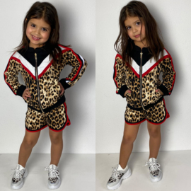 Sporty leopard set