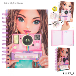 TOPModel notitieboek met selfie notes CANDY CAKE