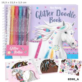 Miss Melody glitter Doodle Book met stiften