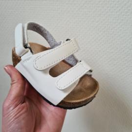 Baby boys white sandals
