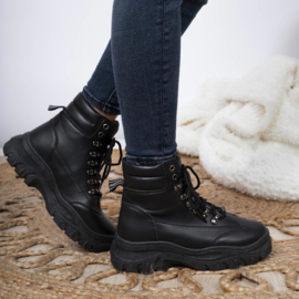 Black spice it up boots
