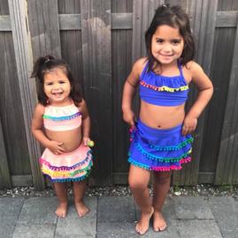 Color Pom Pom bikini