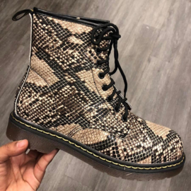 Mommy's snake boots