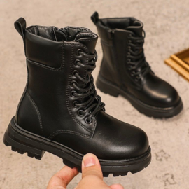 So black boots